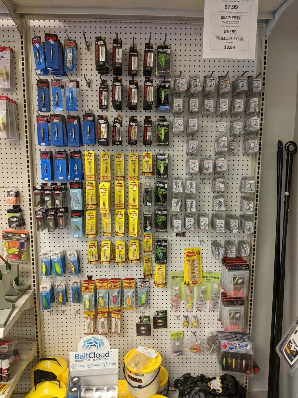 Lighthouse Variety Bait & Tackle | store | 425 Tisdelle Dr, Tilbury, ON N0P 2L0, Canada | 5196821707 OR +1 519-682-1707