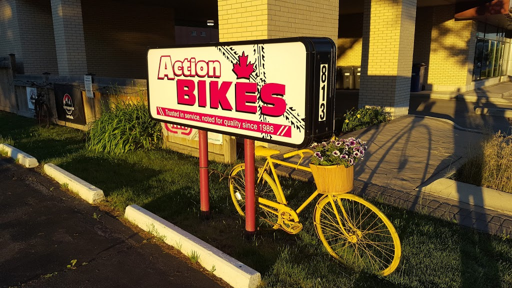 Action Bikes | bicycle store | 813 Brant St, Burlington, ON L7R 2J4, Canada | 9056342566 OR +1 905-634-2566