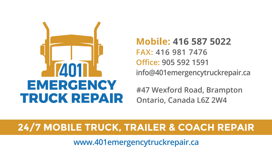 401 Emergency Truck Repair 47 Wexford Rd Brampton On L6z 2w4 Canada