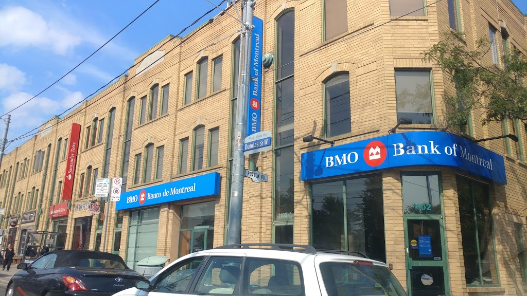 BMO Bank of Montreal | atm | 1102 Dundas St W, Toronto, ON M6J 1X2, Canada | 4165835100 OR +1 416-583-5100