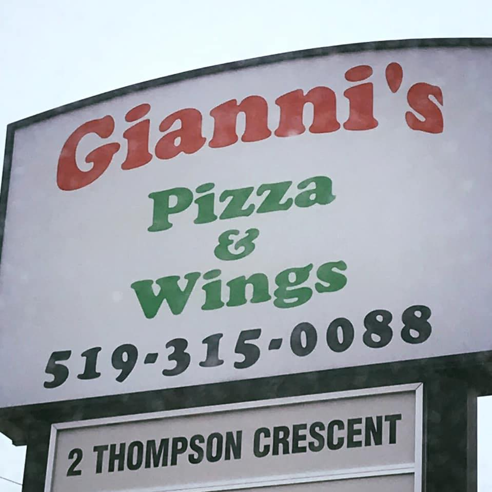 Gianni's Pizza & Wings Restaurant | meal delivery | 2 Thompson Crescent, Erin, ON N0B 1T0, Canada | 5193150088 OR +1 519-315-0088