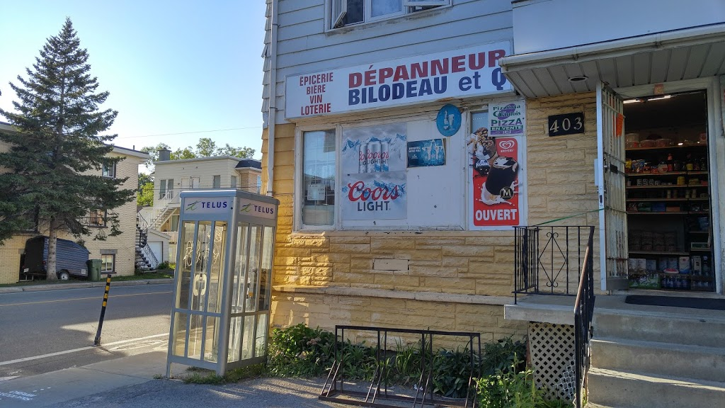 Convenience Accommodation Bilodeau   convenience store   403 Rue des Chênes E, Québec, QC G1J 1K5, Canada   4186283508 OR +1 418-628-3508