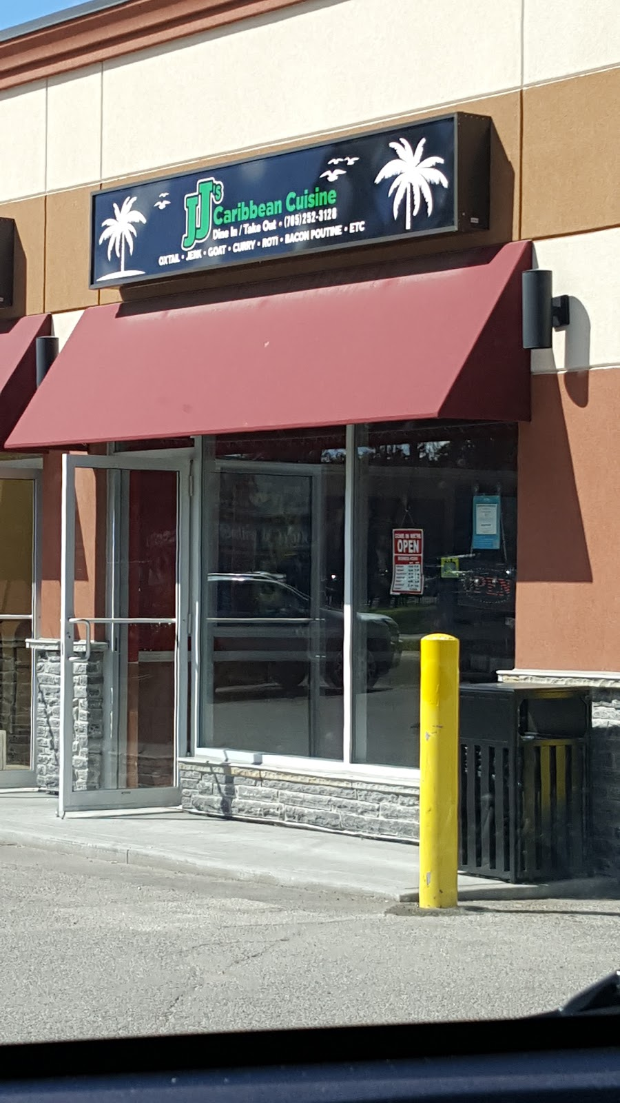 Jjs Caribbean Cuisine | restaurant | 110 Little Ave, Barrie, ON L4N 4K8, Canada | 7052523128 OR +1 705-252-3128