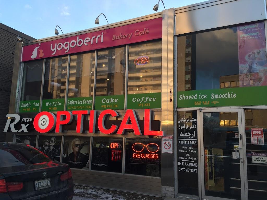 Rx Eye Optical | health | 6070 Yonge St, North York, ON M2M 3W6, Canada | 4165486555 OR +1 416-548-6555