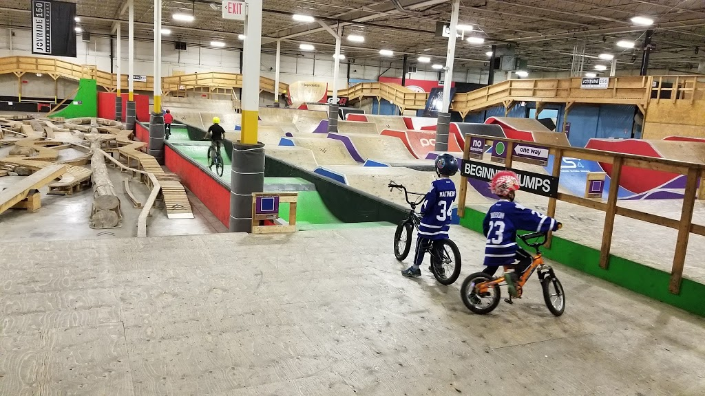 Joyride 150 Indoor Bike Park | bicycle store | 150 Bullock Dr, Markham, ON L3P 1W2, Canada | 9052941313 OR +1 905-294-1313