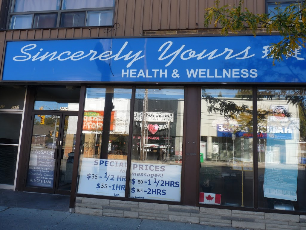 Sincerely Yours Health & Wellness | health | 2819 Lake Shore Blvd W, Etobicoke, ON M8V 1H6, Canada | 4162511388 OR +1 416-251-1388