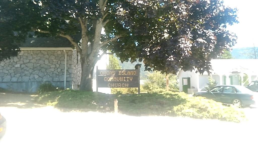 Orcas Island Community Church | church | 176 Madrona St, Eastsound, WA 98245, USA | 3603766422 OR +1 360-376-6422