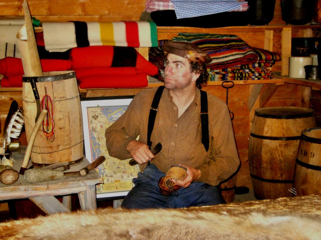 Hudsons Bay Company Fur Trading Fort c.1860 | museum | Heritage Park, Calgary, AB T2V, Calgary, AB T2V 1R1, Canada | 4032688500 OR +1 403-268-8500