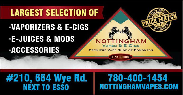 Nottingham Vapes & E-Cigs - Store | 664 Wye Rd #210a