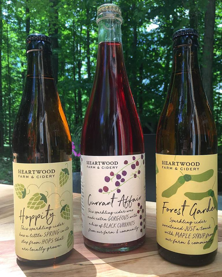Heartwood Farm & Cidery | point of interest | 5438 Second Line, Erin, ON L7J 2L9, Canada | 2269797860 OR +1 226-979-7860
