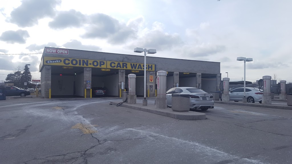 Cheeks COIN-OP CAR WASH | 8 Taber Rd, Etobicoke, ON M9W 4K7