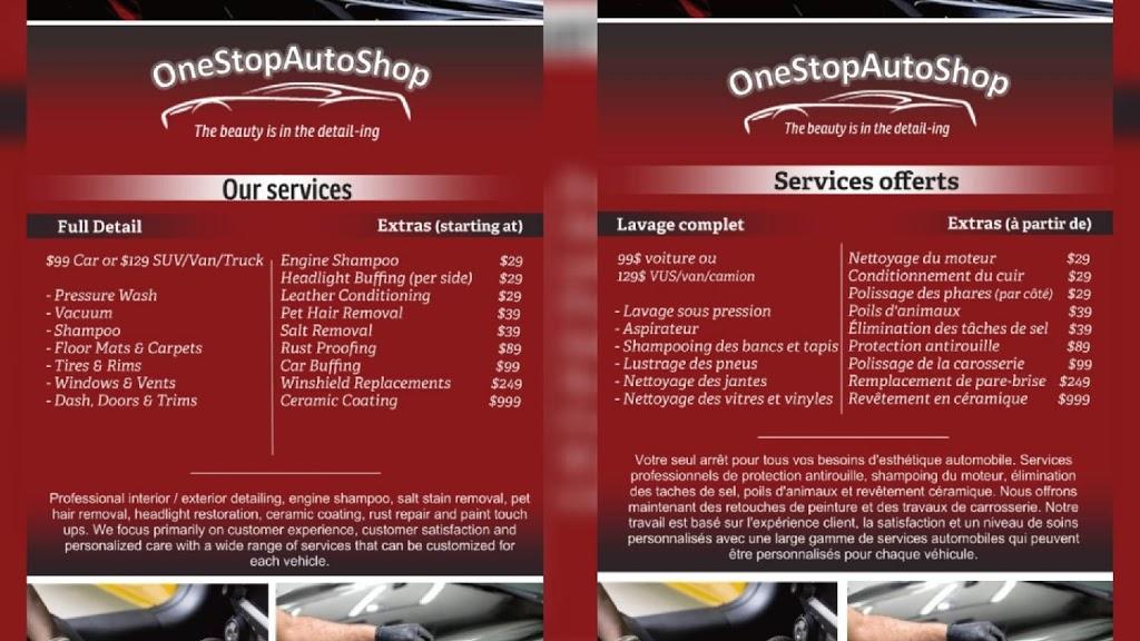 1StopAutoShop | car repair | 1361 Chemin Vanier, Gatineau, QC J9J 3J7, Canada | 8193847970 OR +1 819-384-7970