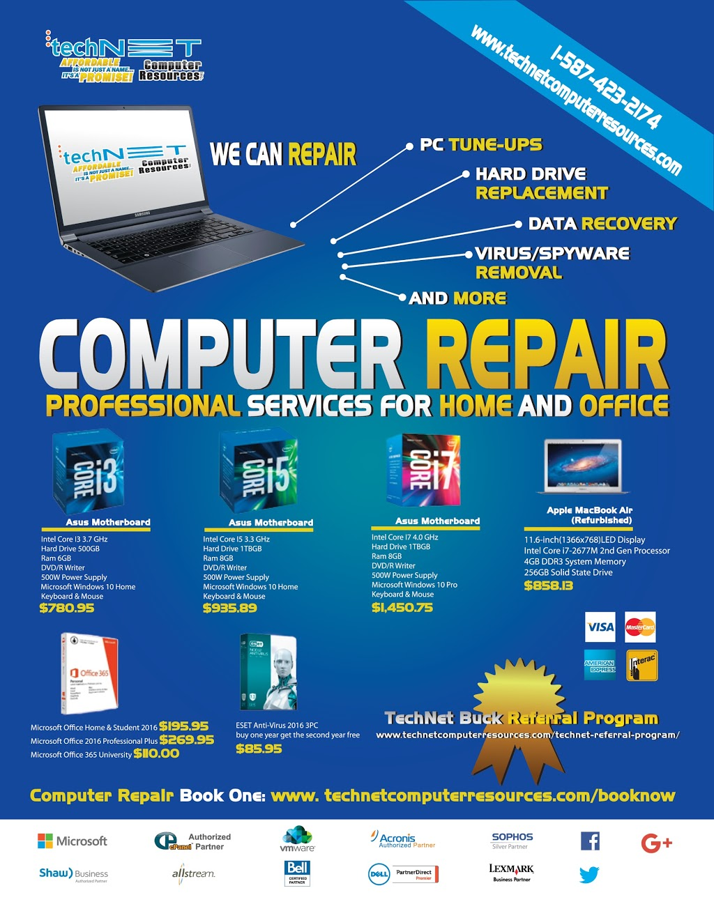 TechNet Computer Resources - Day To Day IT Services, Computer Repair, Manged IT Services, Internet Services | point of interest | 4807 52a St, Alberta Beach, AB T0E 0A0, Canada | 5875666576 OR +1 587-566-6576