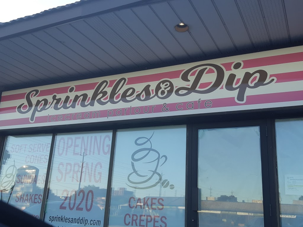 Sprinkles & Dip | cafe | 25 Thickson Rd, Whitby, ON L1N 3P7, Canada | 2892400622 OR +1 289-240-0622