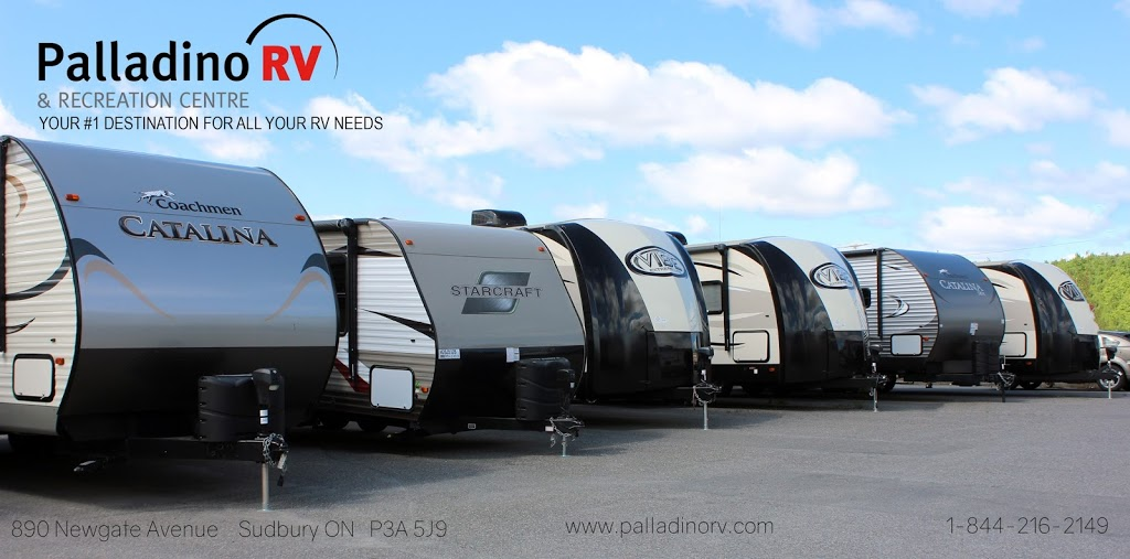 Palladino RV | car dealer | 890 Newgate Ave, Sudbury, ON P3C 5J9, Canada | 7055241912 OR +1 705-524-1912