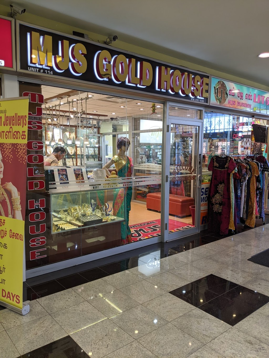 MJS Gold House | jewelry store | 5215 Finch Ave E #203, Scarborough, ON M1S 0C2, Canada | 4162991630 OR +1 416-299-1630