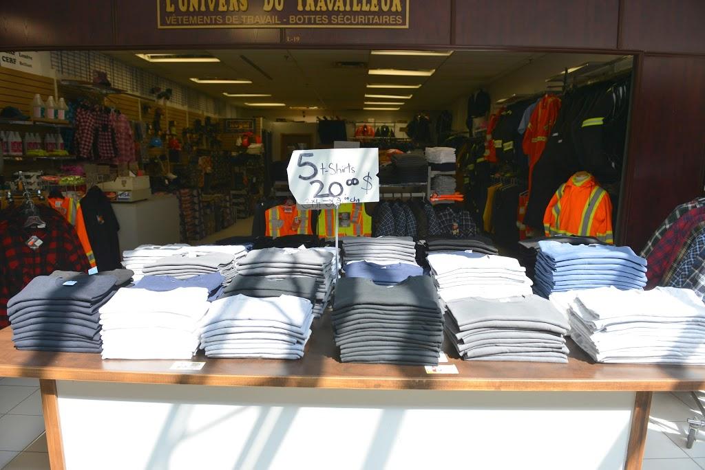 LUnivers du travailleur | clothing store | 1750 Rue du Périgord, Québec, QC G1G 5X3, Canada | 4186263002 OR +1 418-626-3002