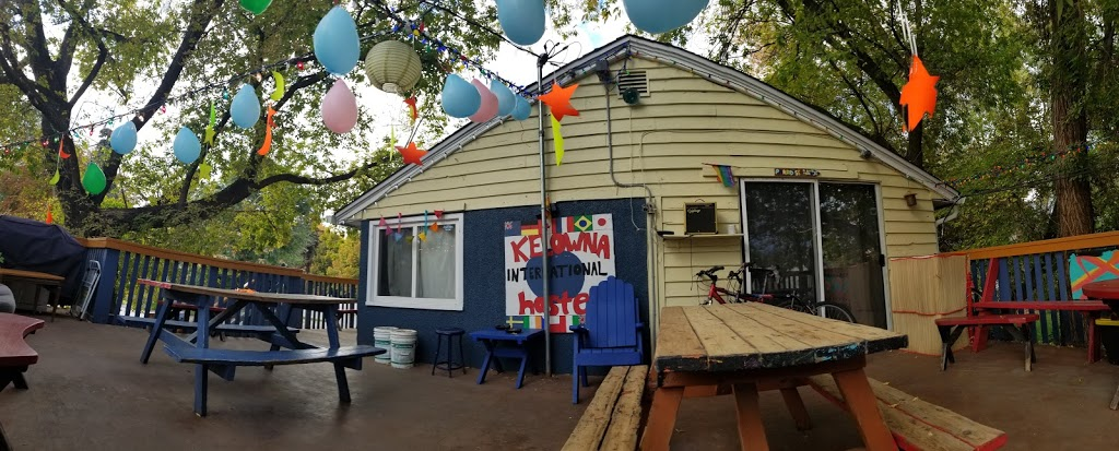 Kelowna International Hostel | lodging | 2343 Pandosy St, Kelowna, BC V1Y 1T5, Canada | 2507636024 OR +1 250-763-6024