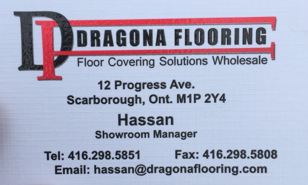 Dragona Flooring | home goods store | 12 Progress Ave, Scarborough, ON M1P 2Y4, Canada | 4162985851 OR +1 416-298-5851