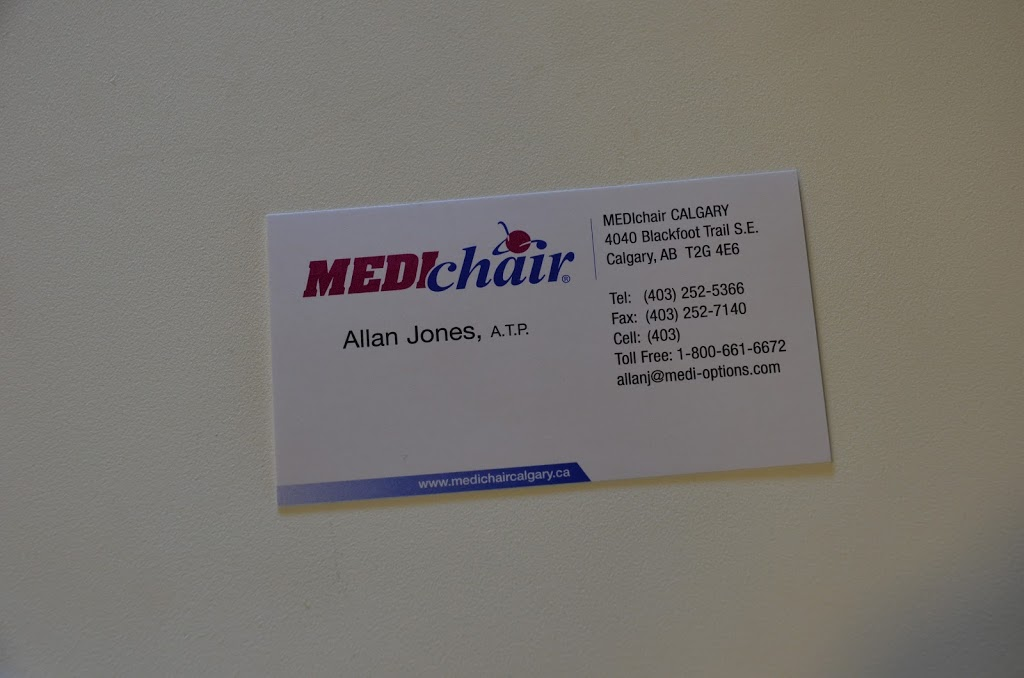 MEDIchair | health | 4040 Blackfoot Trail SE, Calgary, AB T2G 4E6, Canada | 4032525366 OR +1 403-252-5366