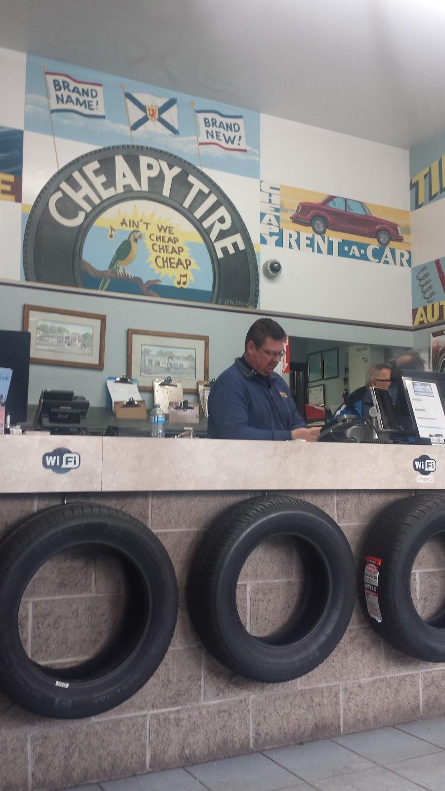 Cheapy Tire | car repair | 302 Windmill Rd, Dartmouth, NS B3A 1H1, Canada | 9024693253 OR +1 902-469-3253