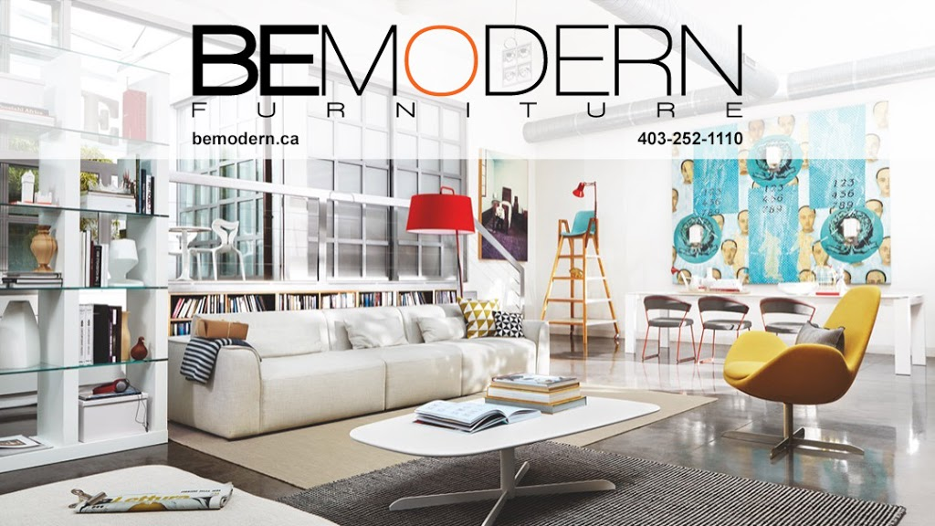 Be Modern | furniture store | #1, 711 48 Ave SE, Calgary, AB T2G 4X2, Canada | 4032521110 OR +1 403-252-1110