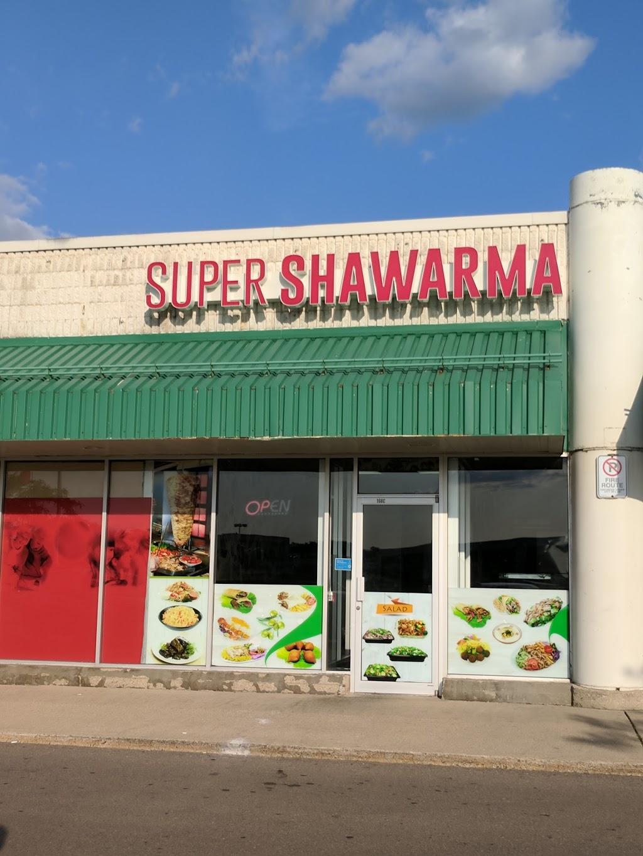 Super Shawarma | restaurant | 875 Highland Rd W, Kitchener, ON N2N 2Y2, Canada | 5199542000 OR +1 519-954-2000