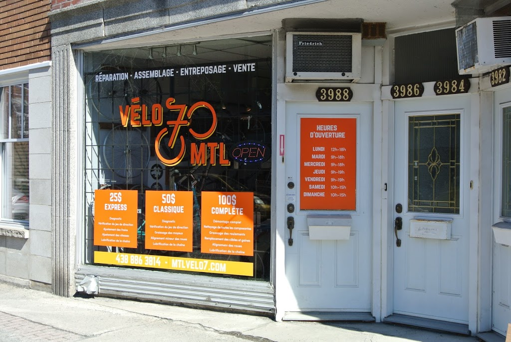 Vélo7 | bicycle store | 3988 Rue Masson, Montréal, QC H1X 1T5, Canada | 4388863814 OR +1 438-886-3814