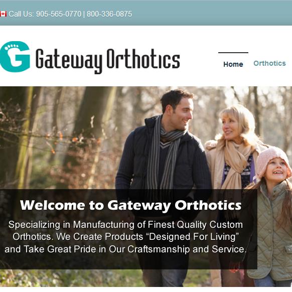 Gateway Orthotics Inc. | health | 1220 Britannia Rd E, Mississauga, ON L4W 1C8, Canada | 9055650770 OR +1 905-565-0770