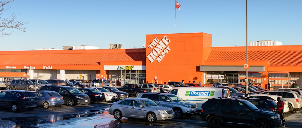 The Home Depot | furniture store | 2555 Bristol Cir, Oakville, ON L6H 5W9, Canada | 9058295900 OR +1 905-829-5900