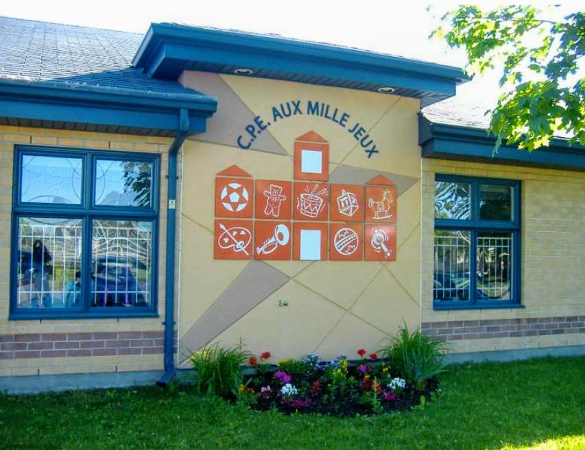 Centre de la Petite Enfance Aux Milles Jeux | point of interest | 3380 Rue Rideau, Saint-Hubert, QC J3Y 5M4, Canada | 4506565005 OR +1 450-656-5005