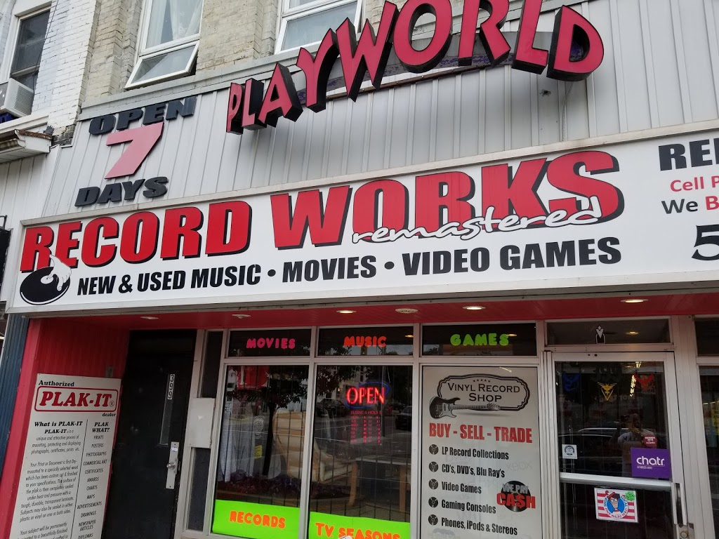The Record Works - Electronics store | 399 Dundas St