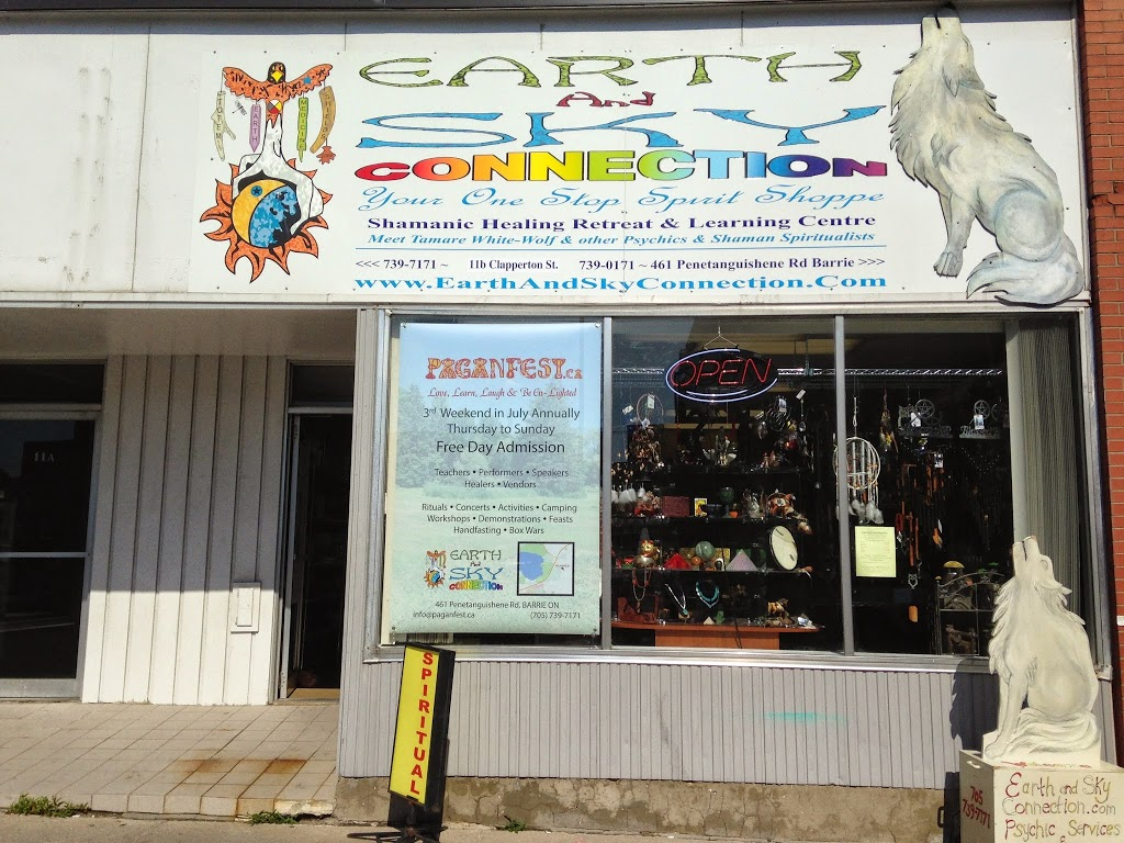 Earth and Sky Connection | book store | 11 Clapperton Street, Barrie, ON L4M 3E4, Canada | 7057397171 OR +1 705-739-7171