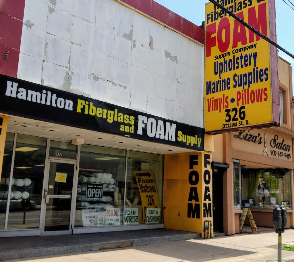 Hamilton Fiberglass & Foam Supply | furniture store | 326 Ottawa St N, Hamilton, ON L8H 4A1, Canada | 9055454933 OR +1 905-545-4933