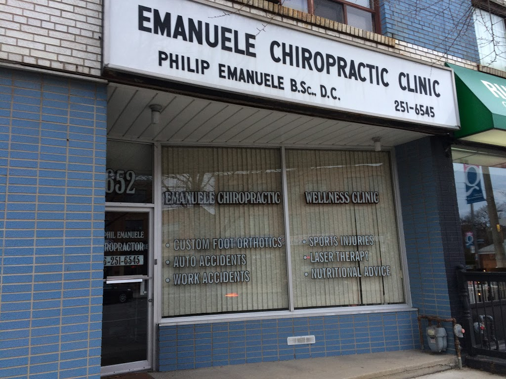Emanuele Chiropractic Clinic | health | 652 The Queensway, Etobicoke, ON M8Y 1K6, Canada | 4162516545 OR +1 416-251-6545