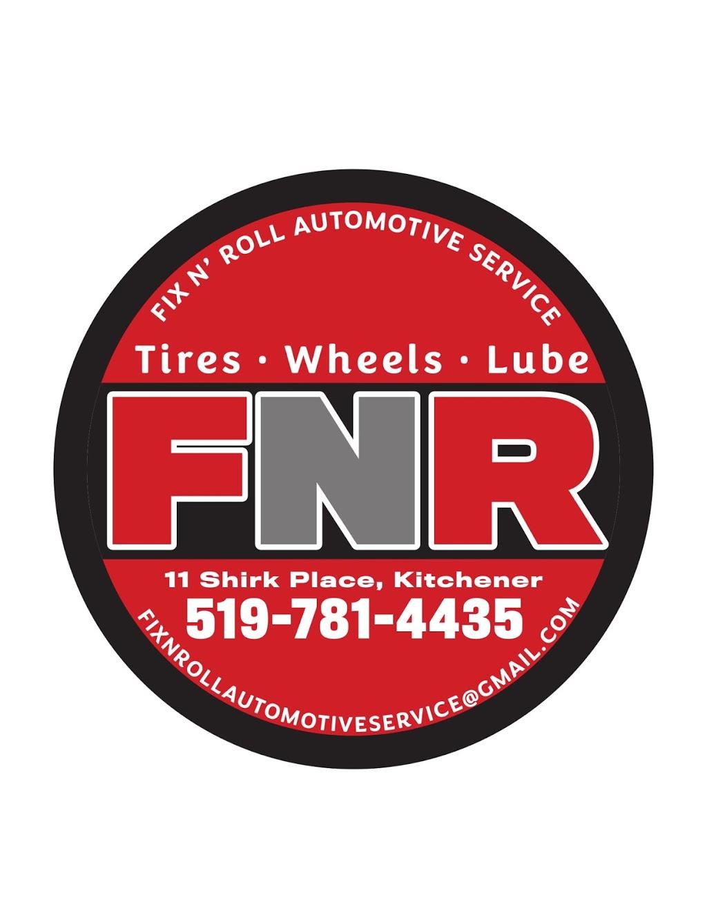 Fix N Roll Automotive Service | car repair | 11 Shirk Pl, Kitchener, ON N2K 1R3, Canada | 5197814435 OR +1 519-781-4435