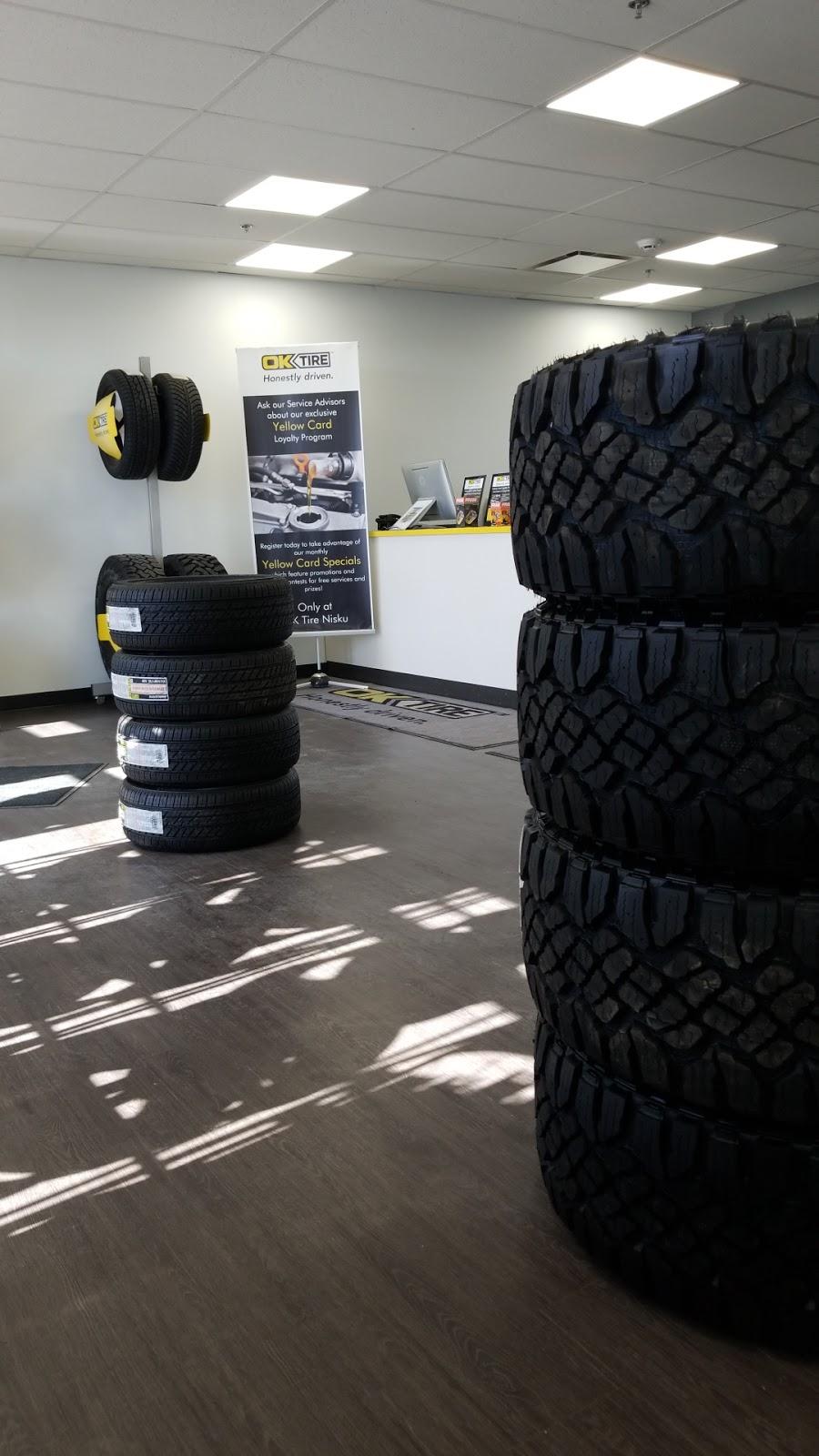 OK Tire | car repair | 1807 2 St #8, Nisku, AB T9E 0W8, Canada | 7809552594 OR +1 780-955-2594