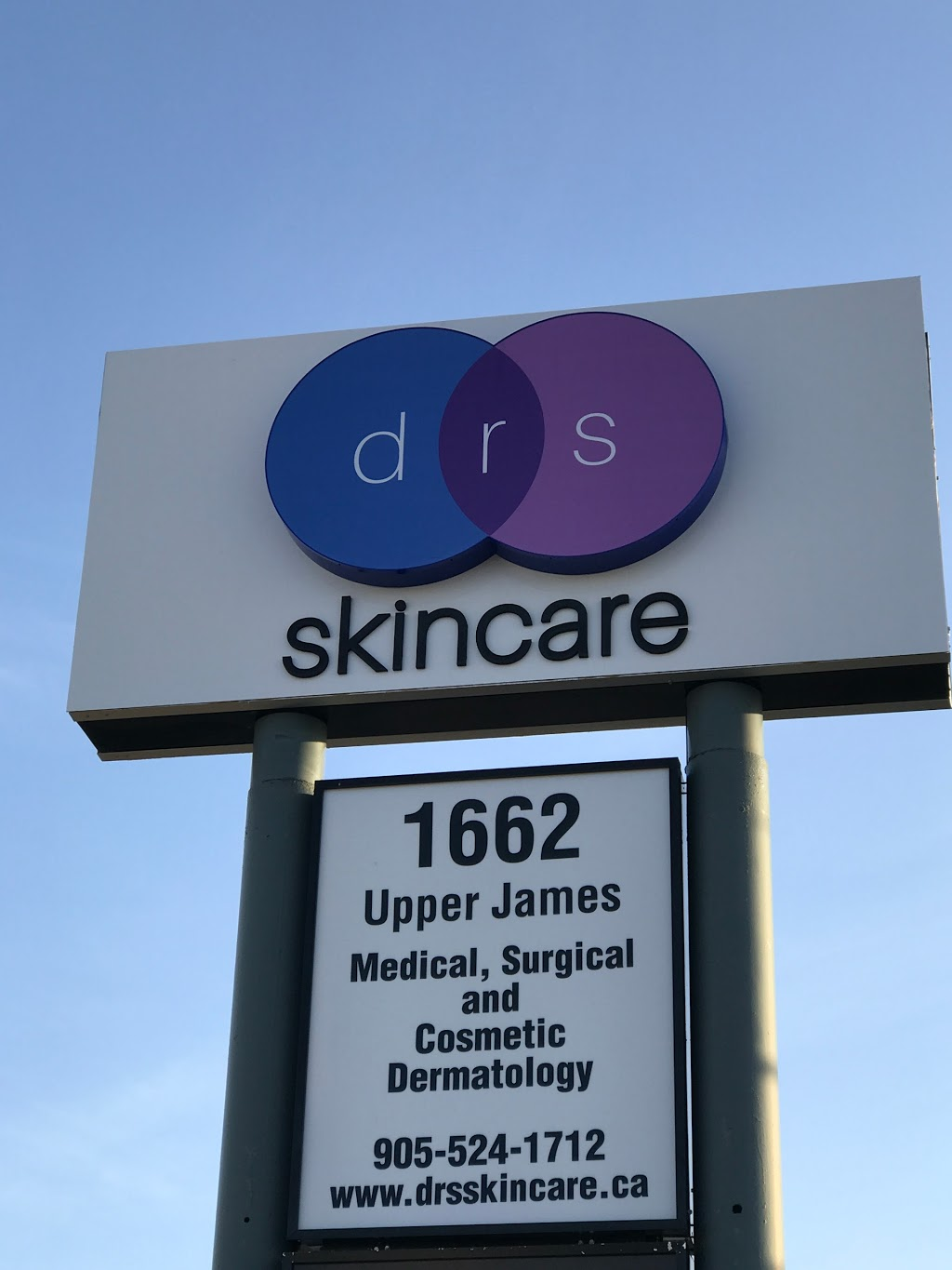 drs skincare | doctor | 1662 Upper James St, Hamilton, ON L9B 1K5, Canada | 9055241712 OR +1 905-524-1712