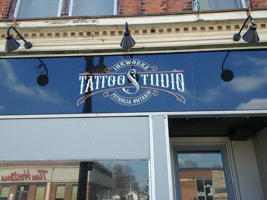 Inkworks Tattoo Sudio | store | 4165 Petrolia Line, Petrolia, ON N0N 1R0, Canada | 5193318830 OR +1 519-331-8830