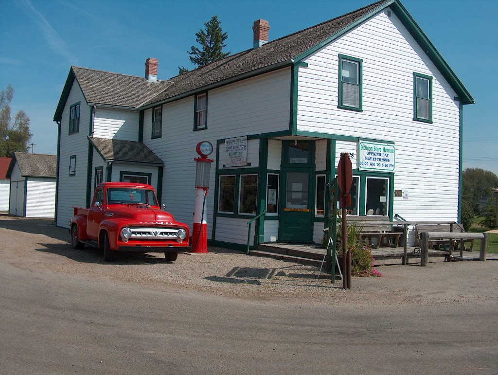 Dickson Store Museum | museum | 1928 2 Ave Dickson Box 146, Spruce View, AB T0M 1V0, Canada | 4037283355 OR +1 403-728-3355