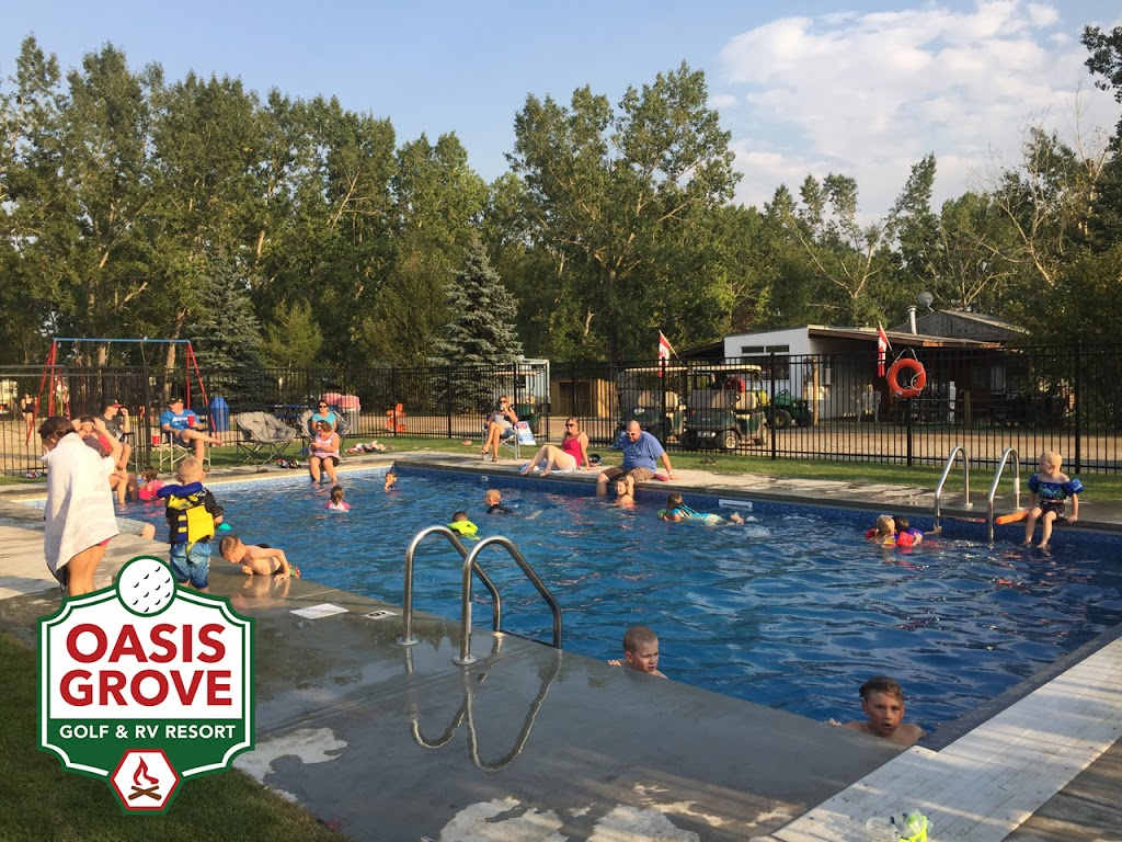 Oasis Grove Golf & RV Park | campground | Range Rd 254, Wheatland County, AB T0J 0M0, Canada | 8773639831 OR +1 877-363-9831