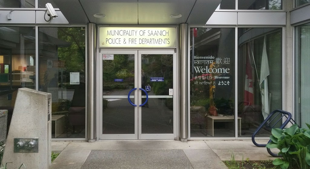 Saanich Police Department | police | 760 Vernon Ave, Victoria, BC V8X 2W6, Canada | 2504754321 OR +1 250-475-4321