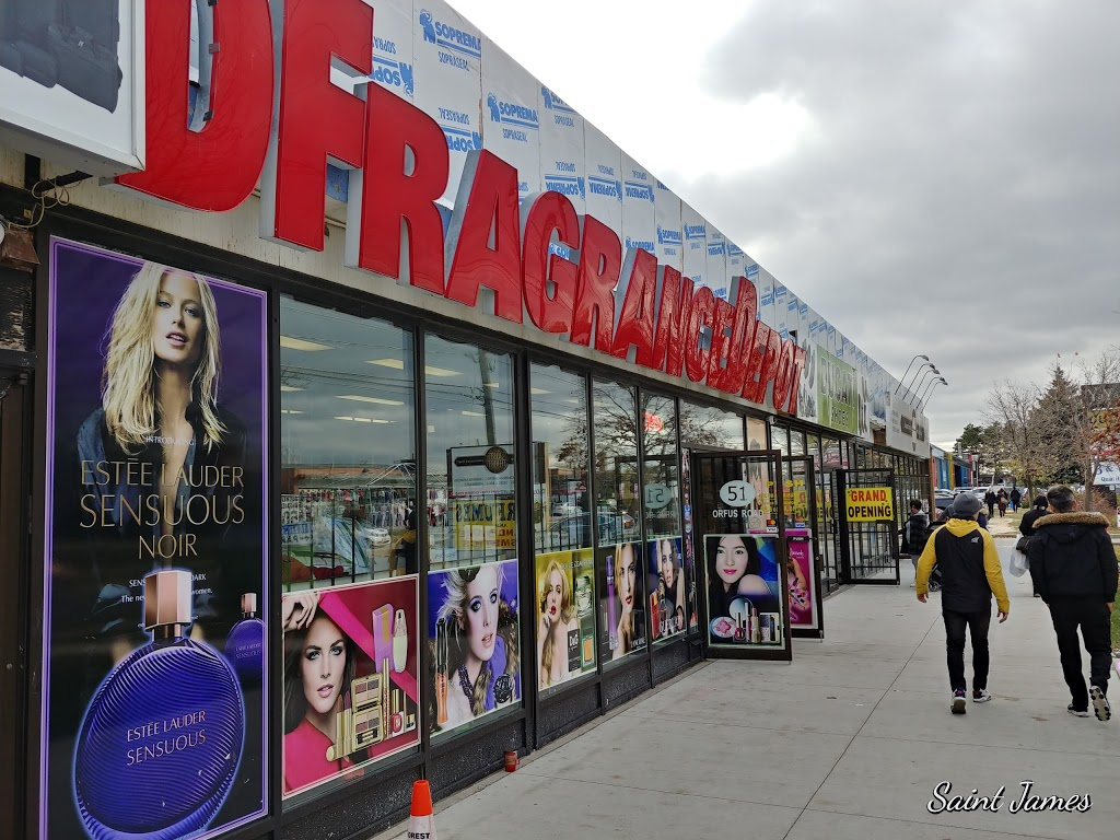 Designer Fragrances Depot | store | 51 Orfus Rd, North York, ON M6A 1L7, Canada | 4162496210 OR +1 416-249-6210