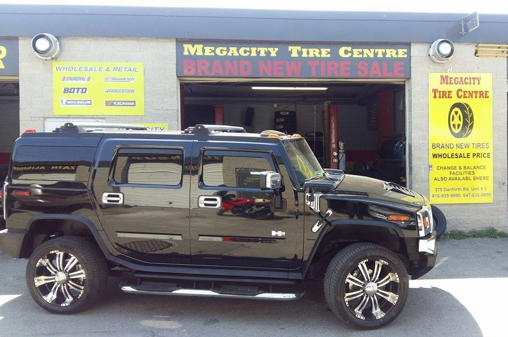 Megacity Tire Center | car repair | 2208 Kingston Rd, Scarborough, ON M1N 1T6, Canada | 6478369956 OR +1 647-836-9956