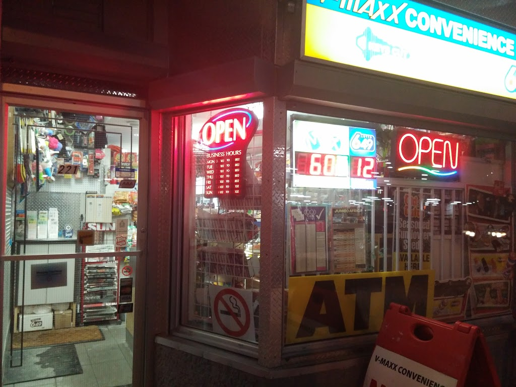 V-MAX Convenience Store | convenience store | Vaughan St, Winnipeg, MB R3C 1T6, Canada