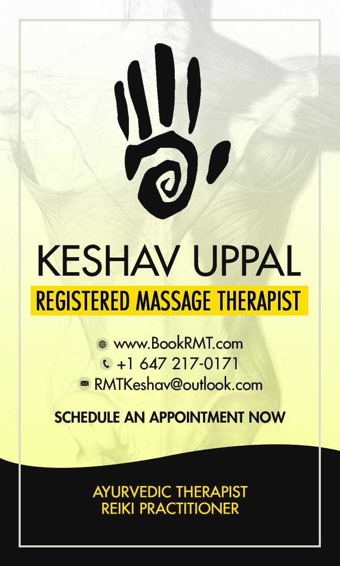 Massage Therapy, Osteopathy By Keshav Uppal | health | 14 Birchbank Rd, Brampton, ON L6T 1L7, Canada | 6472170171 OR +1 647-217-0171