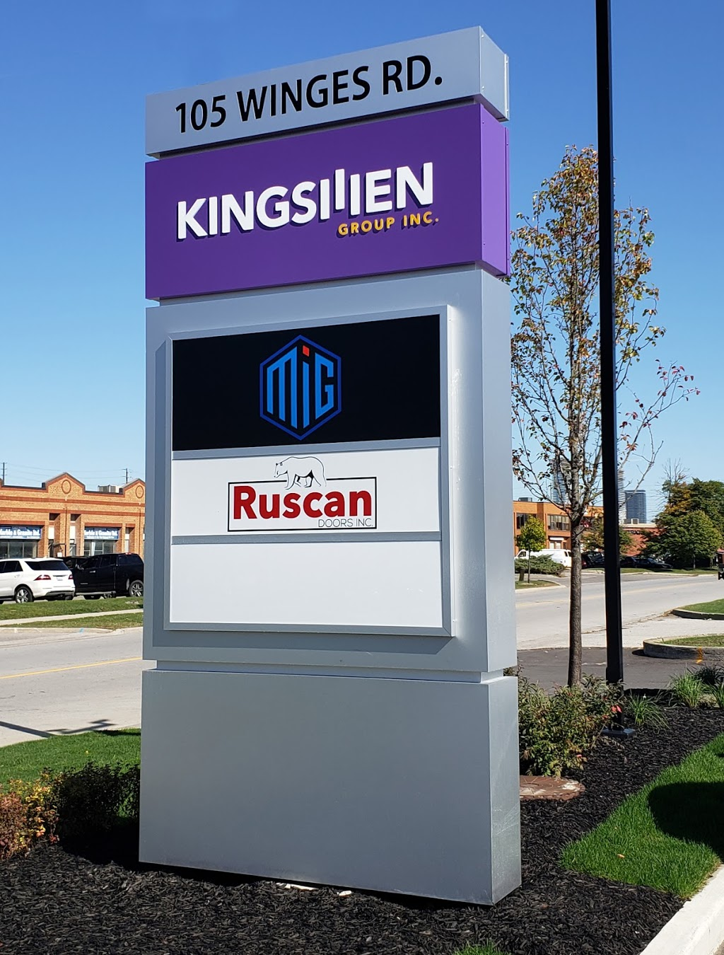 Kingsmen Group Inc. Corporate Office   point of interest   Winges Rd, Vaughan, ON L4L, Canada, Canada   4164458552 OR +1 416-445-8552
