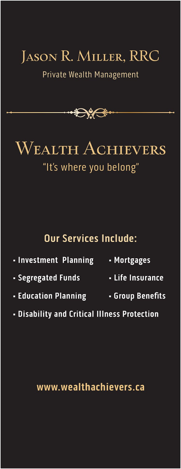 Wealth Achievers | insurance agency | 128 Wellington St W Suite 201, Barrie, ON L4N 8J6, Canada | 7059994855 OR +1 705-999-4855