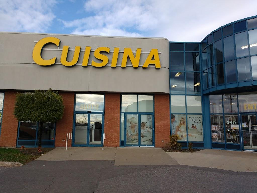 Cuisina | furniture store | 1100 Rue Bouvier, local# 260, Québec, QC G2K 1L9, Canada | 4186341991 OR +1 418-634-1991