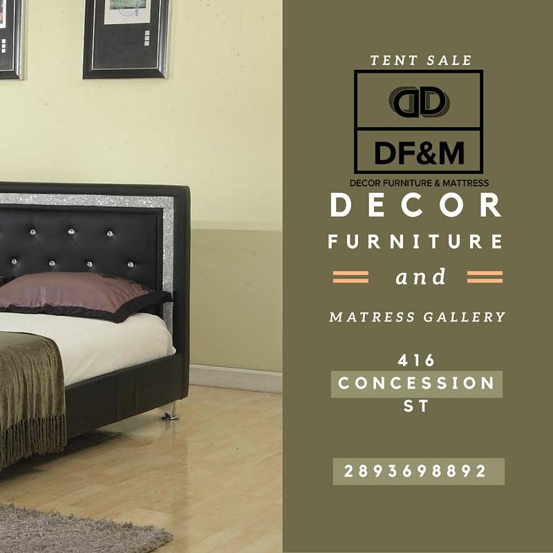 Decor Furniture & Mattress Gallery   furniture store   416 Concession St, Hamilton, ON L9A 1B7, Canada   2893968892 OR +1 289-396-8892
